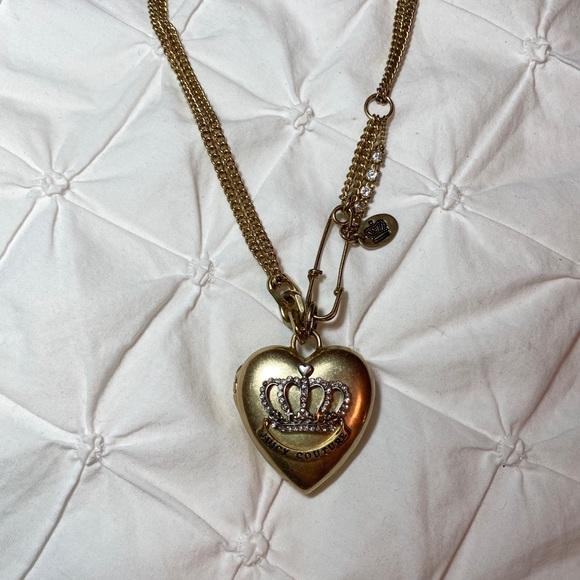 Juicy Couture Jewelry - Juicy Couture Heart Locket Necklace